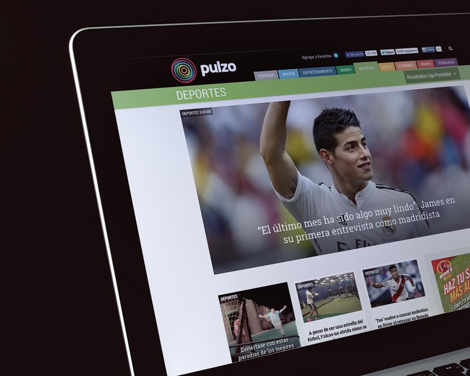 Pulzo.com ya se ubica como el décimo portal de medios de comunicación y primero de los nativos de Internet en Colombia.