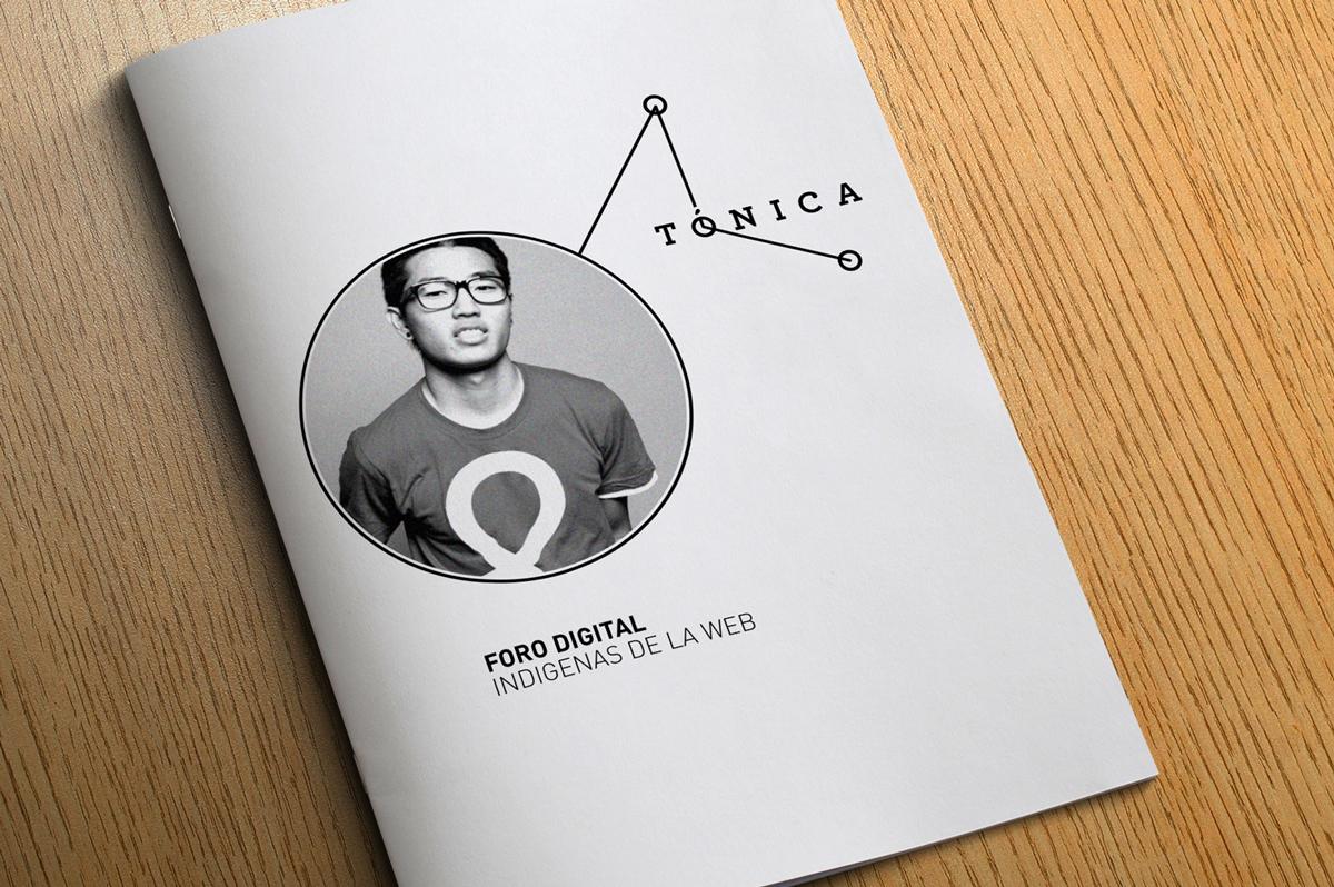 """El logotipo """"Tónica"""" funciona además como contenedor de imágenes."""